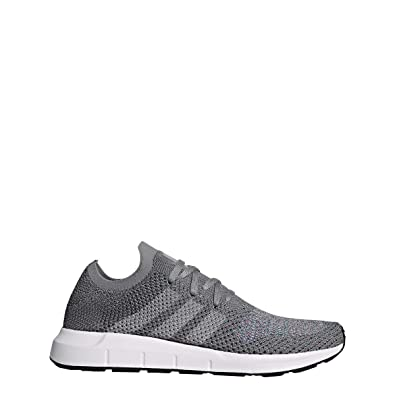 c0d8ab7a5 Image Unavailable. Image not available for. Color  adidas Originals Mens Swift  Run Primeknit Running Shoes Gray ...