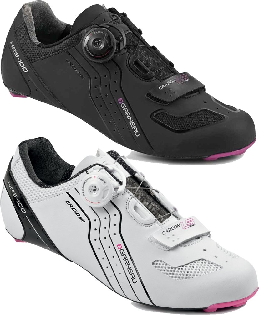 Louis Garneau Carbon LS-100 Women's Cycling Shoe: White 42