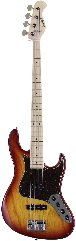Sadowsky Guitars Metro Series MV4-WL Will Lee Signature Model (DCB) B00FYJUY6W Dark Cherry Burst Dark Cherry Burst