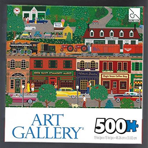 Green Valley 500 pieces Puzzle Art Gallery 19