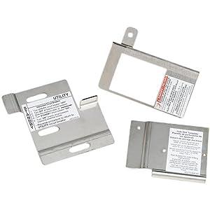 Square D by Schneider Electric HOMRBGK2C Homeline Outdoor Cover Generator and QOM2 Frame Size Main Breaker Interlock Kit