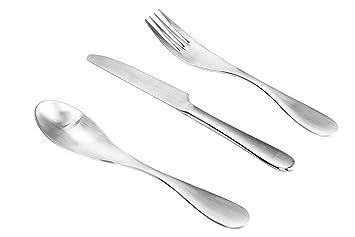 ISIN Daeden Cocina Utensilios Serie: Conjunto de cubertería, tenedores, cuchillos y cucharillas de acero inoxidable de alta calidad.