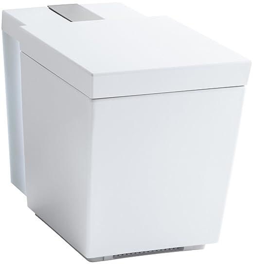 KOHLER K-3901-0 Numi Comfort Height One-Piece Elongated 1.28 GPF Toilet Seat, White