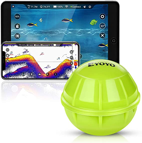 Eyoyo Smart - Localizador de peces con Bluetooth: Amazon.es: Deportes y aire libre