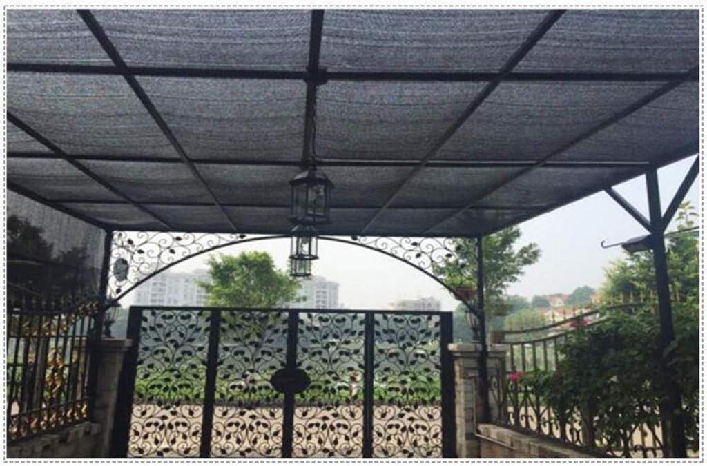 ChenB-Sunscreen Incrementando el Grosor Red de Sombra, Negro Proporcionar 90% Sombra Acampar al Aire Libre Bloque de Tela Protector Solar Rayos Ultravioleta (Color : Black, Size : 4 * 8M): Amazon.es: Hogar