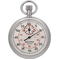 MARATHON ST211003 Stopwatch Single Action Mechanical Windup Analog Stop Watch