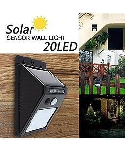 Bigsavings 20 LED Solar Motion Sensor Light,Outdoor Weatherproof for Driveway Garden Path Yard