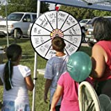 12 Inch White Dry Erase Prize Wheel By Midway