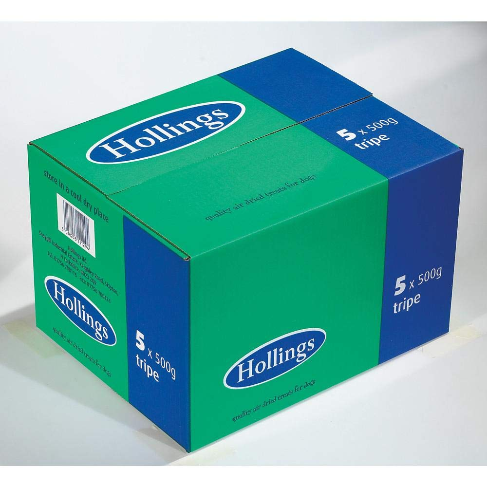 Hollings Tripe Sticks 500g (Bulk deal of 5) 2500g