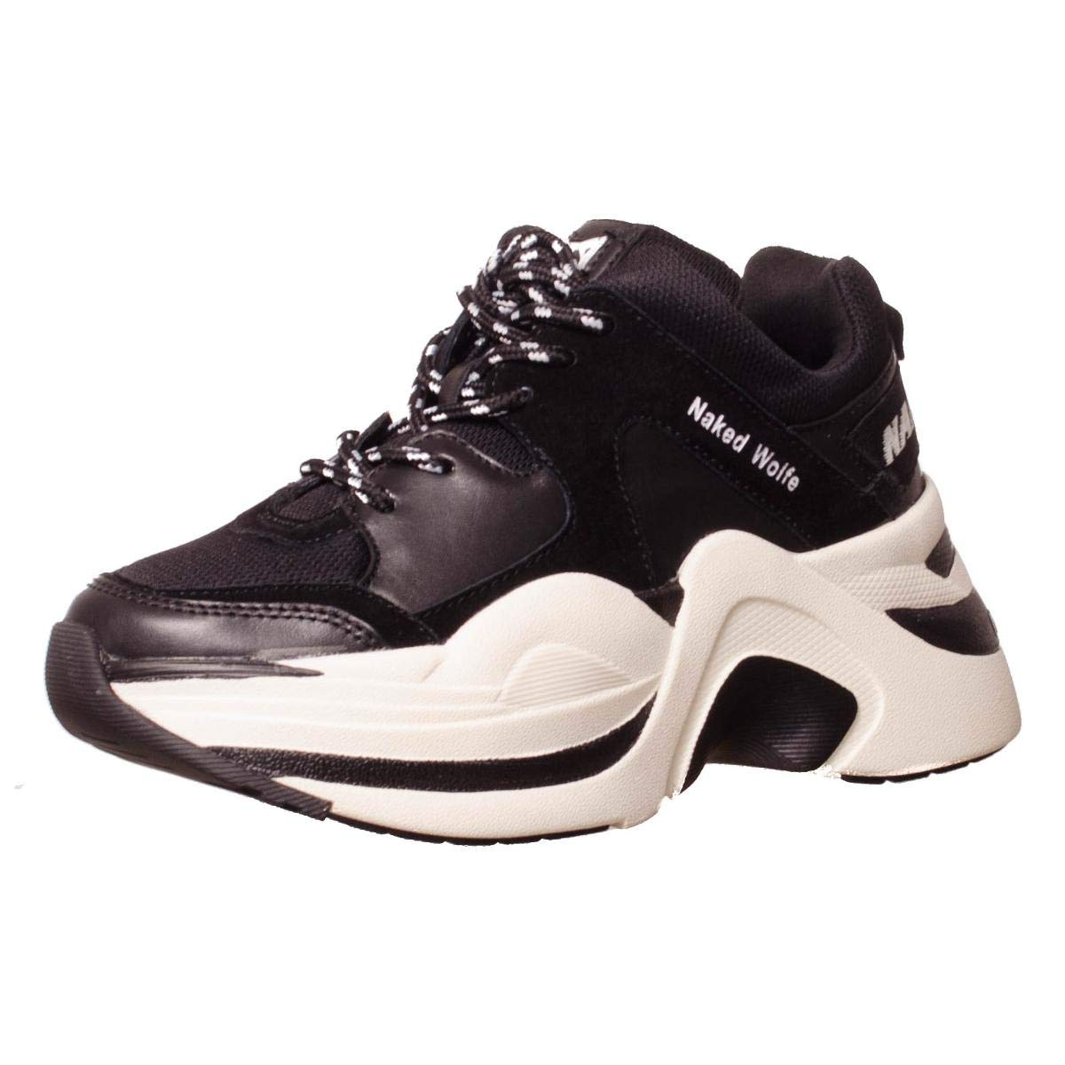 Blackoff Chaussures Naked Plates Wolfe Plateforme Femme White Track SMpqzUV