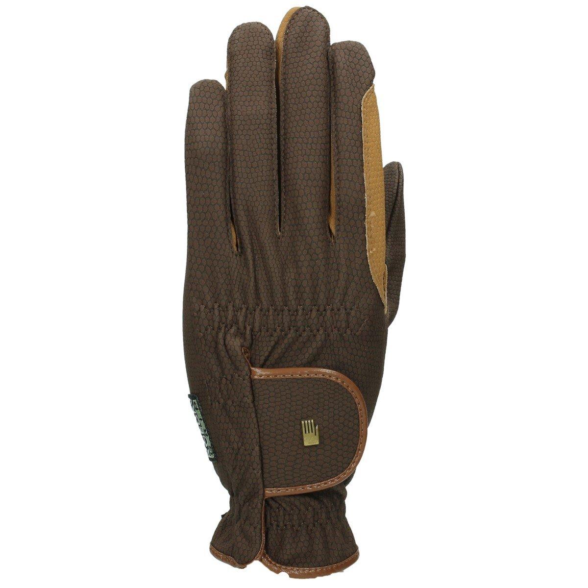 ROECKL Handschuhe Roeck grip -bicolour-, mokka/caramel, 7, 5 Roeckl sports