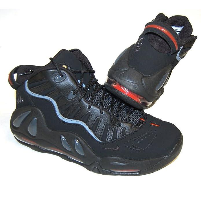 Amazon.com | Nike Air Max Uptempo 97 Mens Basketball Shoes [399207-002]  Black/Black-Dark Grey Mens Shoes 399207-002-8.5 | Shoes