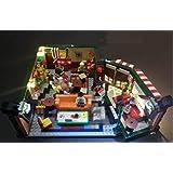 LED Lighting Kit for Lego 21319 Ideas Central Perk Friends (Lego Set not Included)