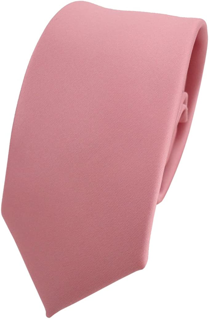 TigerTie - corbata estrecha - rosa oscuro viejo-rosa monocromo ...