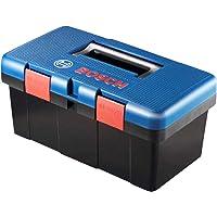 Maleta Organizadora e para Transporte de Ferramentas, Acessórios ou material ToolBox, Bosch, ToolBox 1600A012XJ-000, Azul