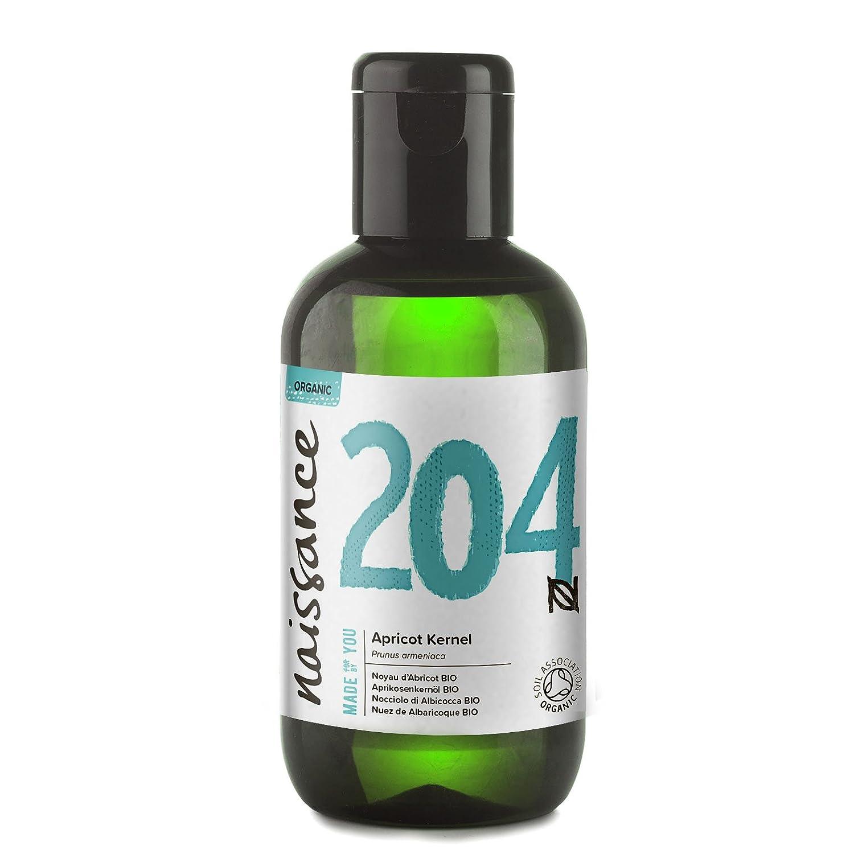 Naissance Aceite Vegetal de Albaricoque BIO 100ml - 100% puro, prensado en frío, certificado ecológico, vegano y no OGM: Amazon.es: Salud y cuidado personal