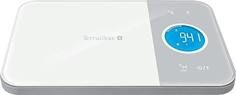 watch best value factory authentic Terraillon Balance de Cuisine Connectée, Pour Smartphone/Tablette, Calcul  des Apports Énergétiques, Tare, Conversions Liquides, Minuteur, Bluetooth  ...