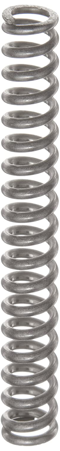 Compression Spring Stainless Steel Metric 9.6 mm OD 1.6 mm Wire Size 35.2 mm Compressed Length 65.5 mm Free Length 176.46 N Load Capacity 5.87 N mm Spring Rate Pack of 10