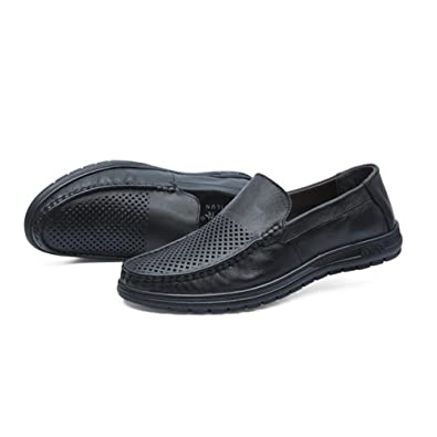 Cuir Loisir Business on Slip respirant Out Casual Hommes