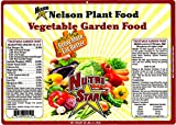 Nelson Vegetable Garden Plant Food Granular Fertilizer Multi Purpose High Calcium Phosphorus Micronutrients In Ground Gardens Containers Greenhouses NutriStar 12-14-11 (25 LB)