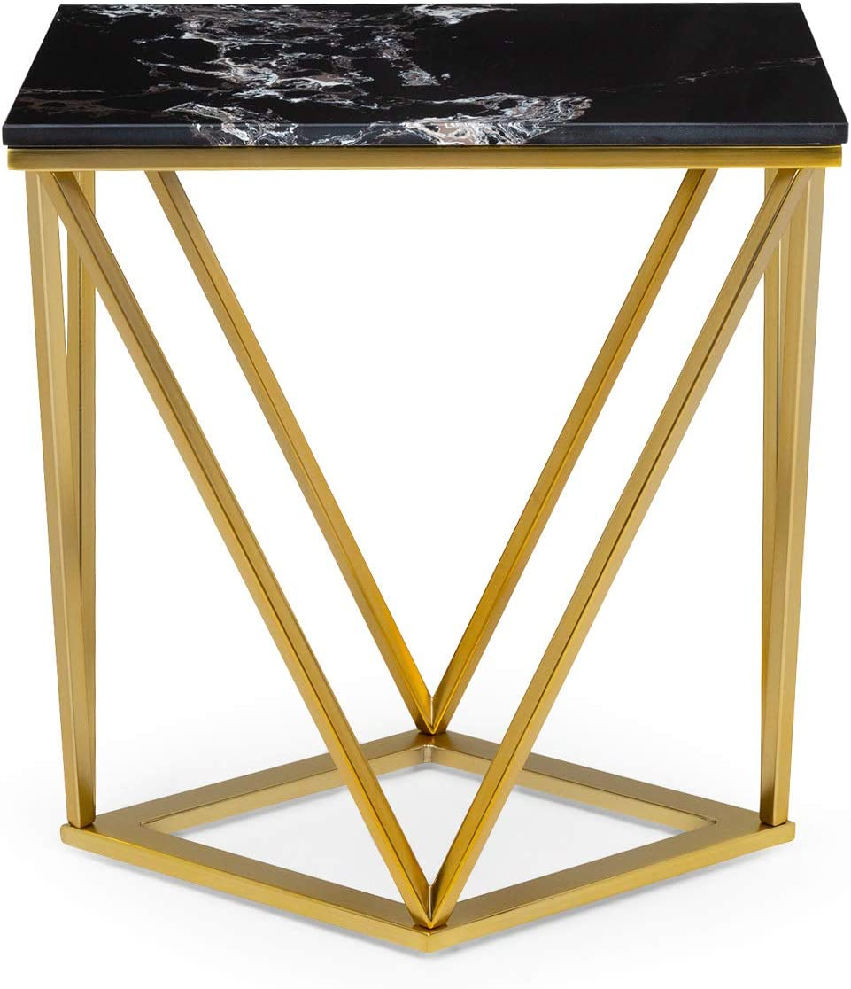electronic star Besoa Black Onyx I Table Basse 110x42,5x55 cm