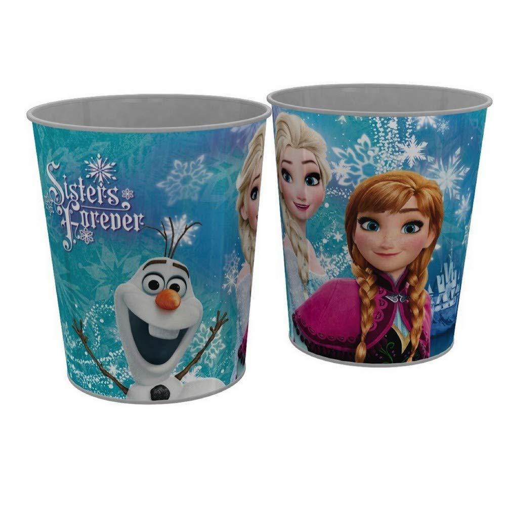 GUIZMAX Corbeille a Papier La Reine des Neiges Poubelle Frozen