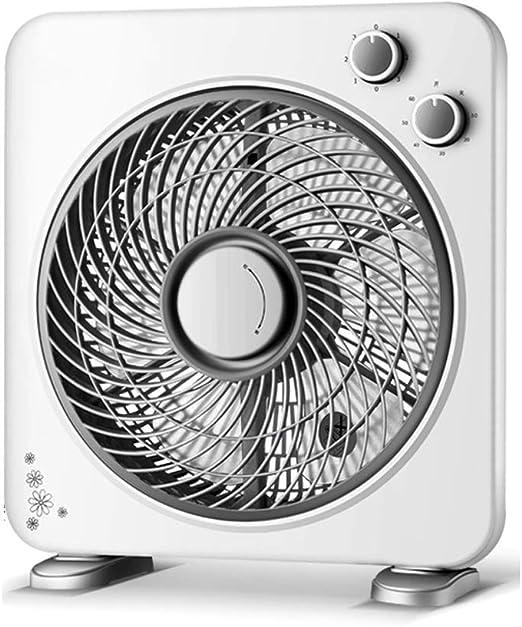 Color : Dark Blue Air Cooling Fan Creative Mini Fan Desktop Fan Dormitory Office Bedside Table Mute Small Fan Rechargeable USB
