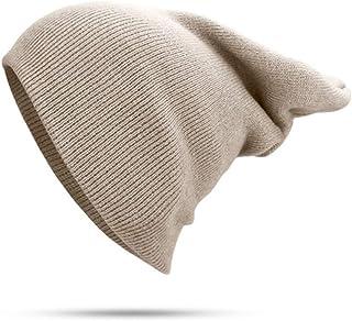 ColorJoy Cappelli Invernali per Donna/Uomo Nuovi Berretti a Maglia Solido Cappello Carino Ragazze/Ragazzi Autunno Femminile Beanie Caps Warmer Bonnet Cappellino Casual