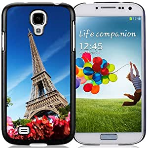 New Fashion Custom Designed Skin Case For Samsung Galaxy S4 I9500 i337 M919 i545 r970 l720 Phone Case With Phone Case For Eiffel Tower Phone Case Cover
