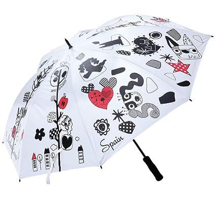 2b2075d74437 Amazon.com : MU Sports 703V2930 Umbrella 2017 Women White : Sports ...