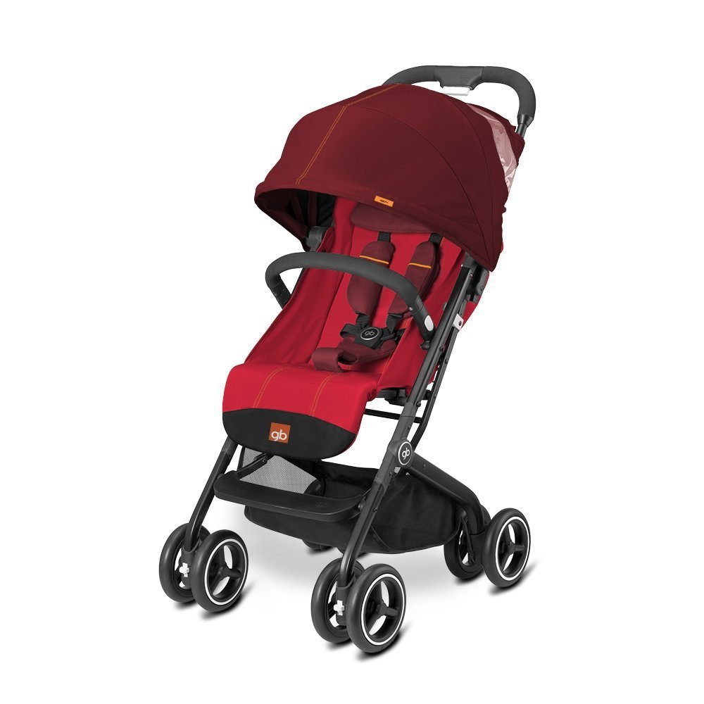 gb 2017 Buggy QBIT+ from birth up to 17 kg (approx. 4 years) Dragonfire Red - GoodBaby QBIT PLUS by gb (Image #1)