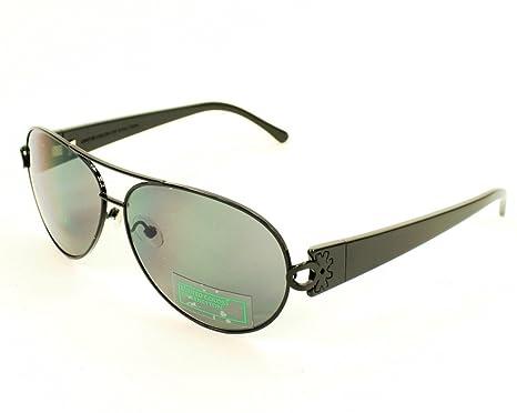 Amazon.com: Benetton Sunglasses BE 501 05 Acetate Black Grey ...