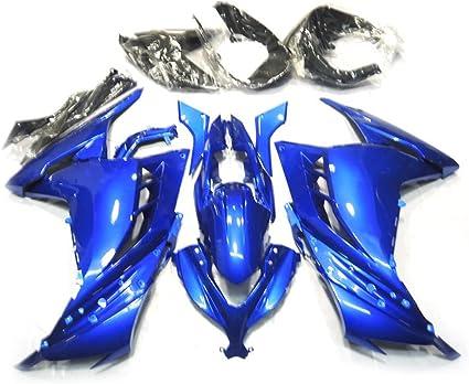 ZXMOTO Matte Black ABS Plastic Bodywork Fairing Kit For 2014 15 16 17 2018 Yamaha YZF R3 YZF R25 2015 2016 2017 ABS Bodywork