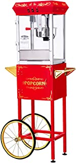 Great Northern Popcorn Red 8 Ounce All Star GNP-800 Classic Style