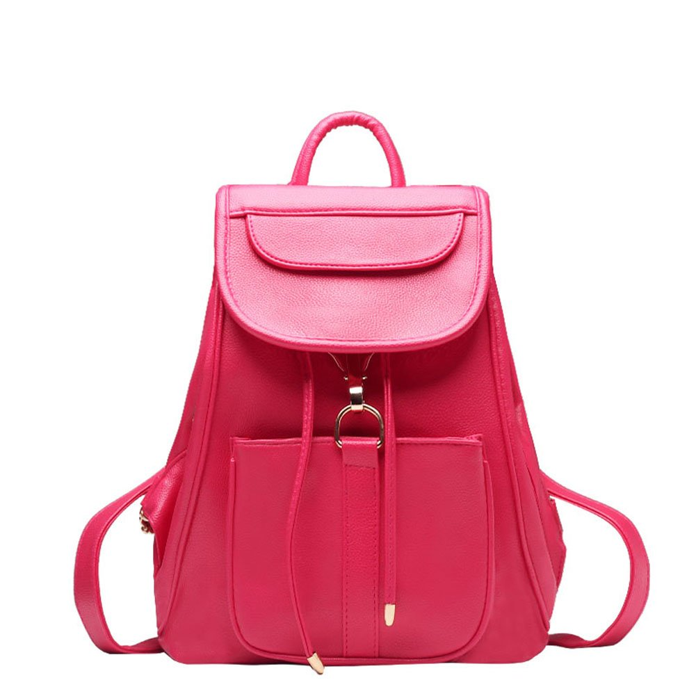 Tinyell Mini Style Travel Women Backpack Purses Leather Knapsack
