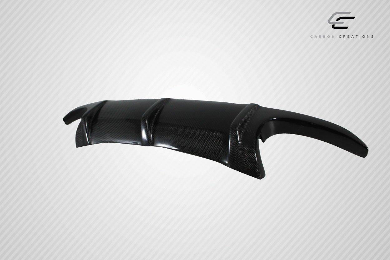 Vaero Carbon Creations Replacement for 2003-2006 Mercedes SL55 R230 L Sport Rear Diffuser 1 Piece