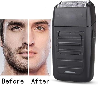 Inalámbrico Recargable Afeitadora para el Cuidado de Los Hombres Twin Blade Razor Alternativa Barba Cara Multifunción Trimmer Fuerte: Amazon.es: Salud y cuidado personal