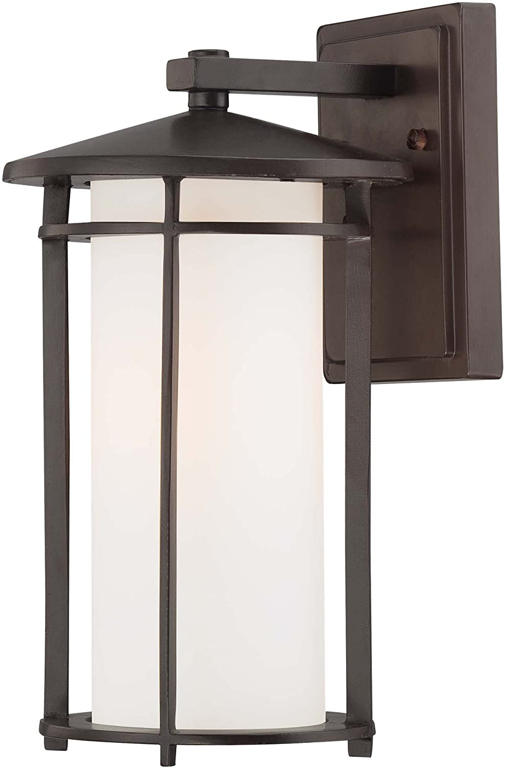 Minka Lavery 72311 615B, Addison Park, 1 Light Wall Mount, Dorian Bronze      Amazon.com