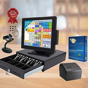 All-in-One 17 pulgadas Touch Caja registradora System + accesorios + versión de prueba Bono Soft Wincor: Amazon.es: Electrónica