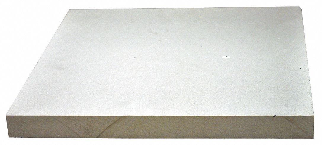 3/4'' x 12'' x 12'' Calcium Silicate High Temperature Insulation, Density 55, White