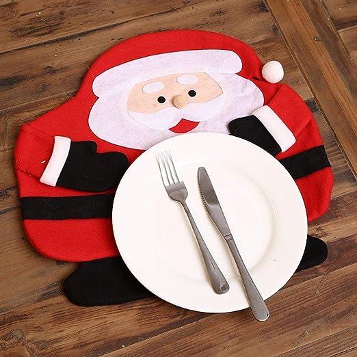 SPFAZJ Decoraciones de Navidad Mesa decoración Navidad Restaurante ...