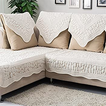 Amazoncom yazi Sectional Sofa Slipcovers Back Couch Covers