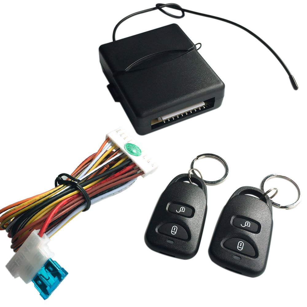 Docooler Car Remote Central Lock Locking Keyless Entry Avital 3100 Alarm Wiring Diagram System With Controllers Cell Phones Accessories
