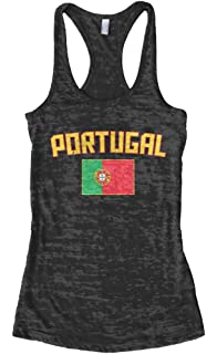 26eb3f868 Amazon.com  Portugal National Soccer Team 2016 Fans 3 4 Women Sleeve ...