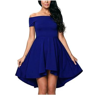 Damen Sommerkleider IHRKleid® Damen Vintage 50er Cap Sleeves Dot Einfarbig  Rockabilly Swing Kleider (S