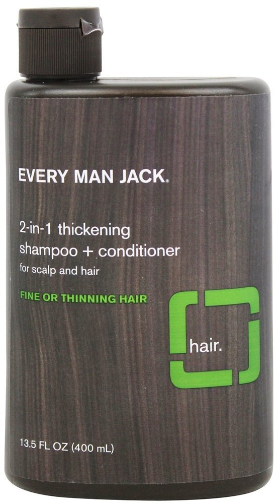 Every Man Jack Shampoo 2-In-1 Thickening 13.5oz