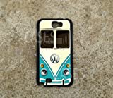 Galaxy Note 2 Case VW Teal Minibus Retro BEST Unique COOLEST Samsung Galaxy Note 2, Rubber Protective Galaxy Note 2 case