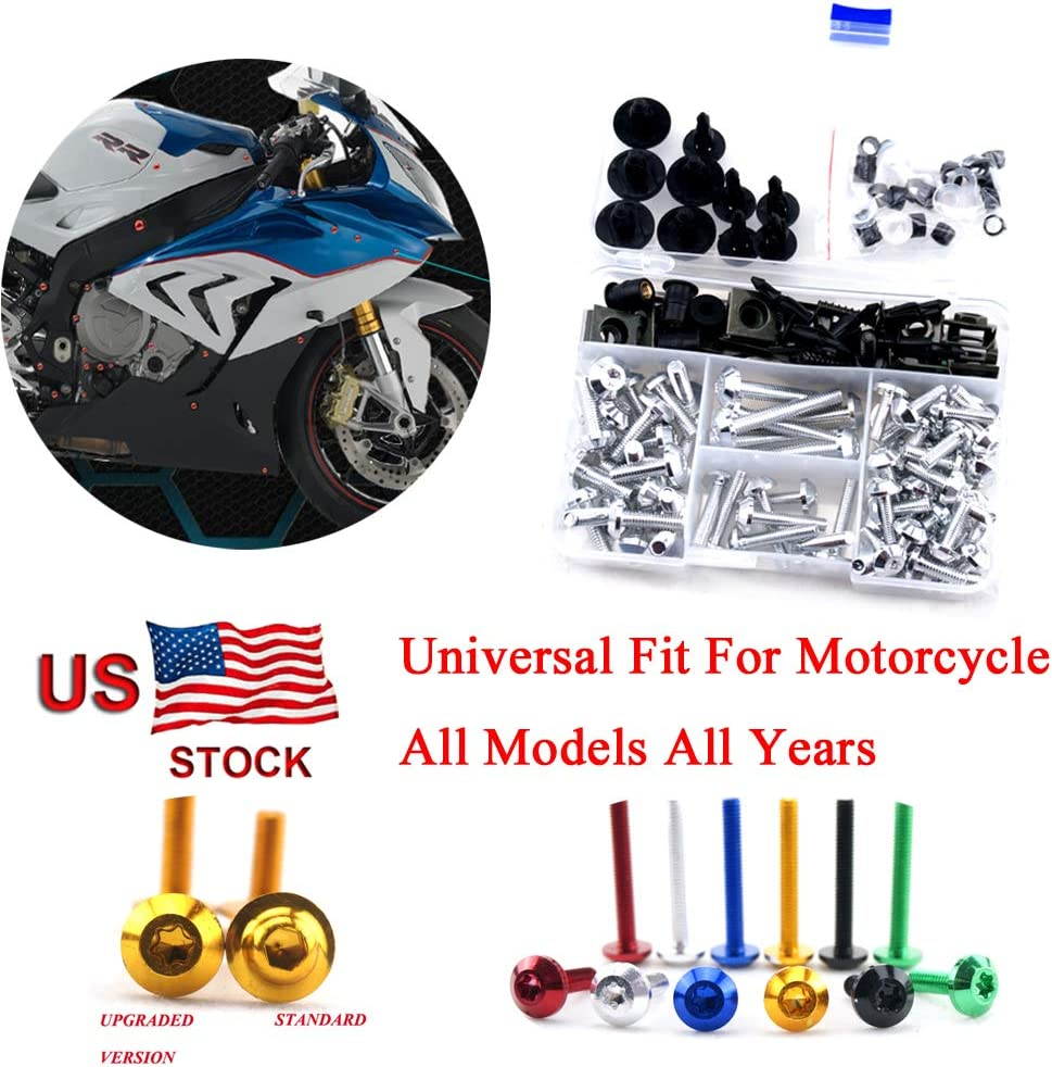 Complete Bolt Motorcycle Fairings Clips for Kawasaki Ninja 650 2016 2017 2018