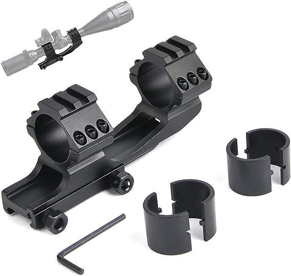 Jashke Zielfernrohrhalterung Ringe 1 Zoll 30mm Montieren Für 20mm Picatinny Schiene Doppelter Ring Sport Freizeit