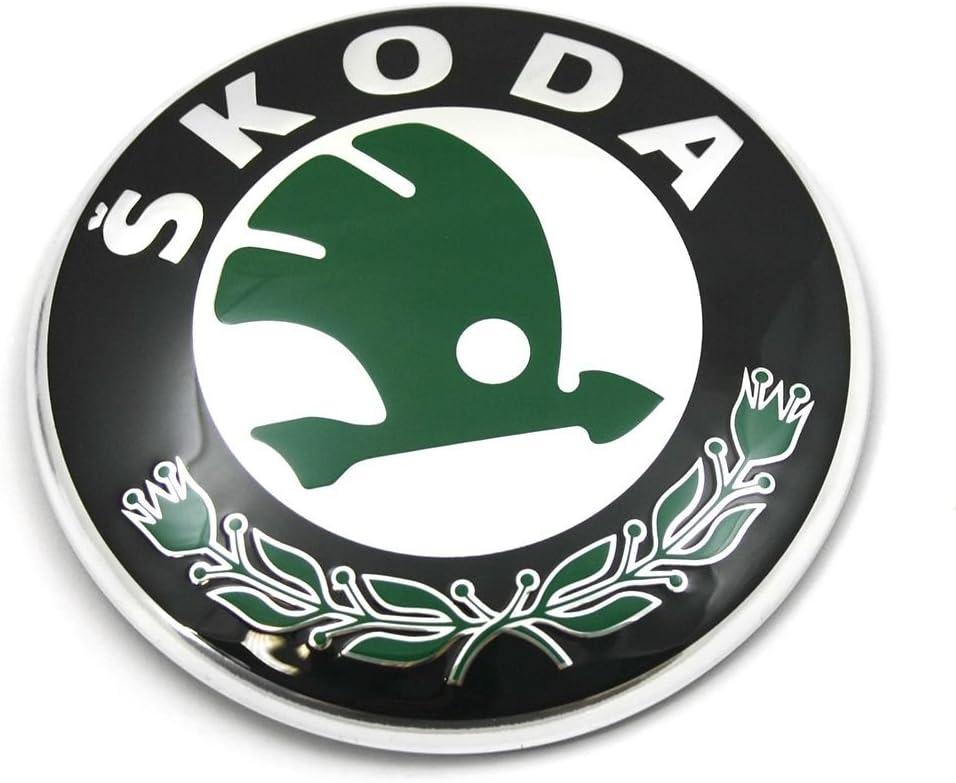 Skoda 3u0853621b Mel Zeichen Emblem Logo Frontklappe Plakette Auto